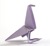 Uccello di origami Fotografie Stock Libere da Diritti
