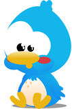 Uccello di Toon Immagine Stock