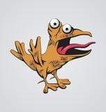 Uccello divertente Fotografia Stock