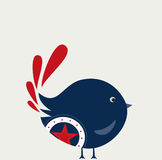 Uccello dolce Fotografia Stock