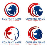 Uccello Eagle Logo Immagine Stock