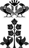 Uccello ornamentale Immagini Stock