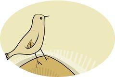 Uccello semplice Fotografie Stock
