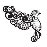 Uccello stilizzato Fotografia Stock Libera da Diritti
