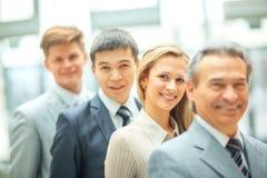 Uccessful commercieel team Royalty-vrije Stock Afbeelding