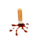 Uccisioni di fumo Fotografia Stock Libera da Diritti