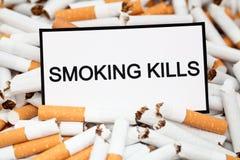 Uccisioni di fumo Immagine Stock
