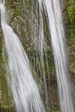 Ucelluline Cascade fall in the Castagnicca region near San Nicolao, Northern Corsica, France Stock Images
