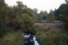 Ucha flod arkivbilder