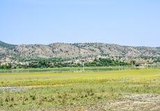 Uchali del lago valle presto Fotografia Stock Libera da Diritti