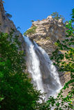 Uchan-su falls on mountain Ah-Petri Royalty Free Stock Photography