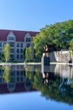 UChicago prawa szkoły basen Obraz Royalty Free