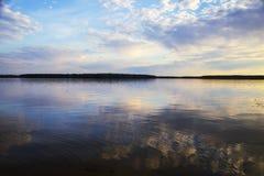 Uchinskoe-Reservoir Lizenzfreies Stockbild