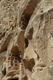 Uchisar城堡 图库摄影
