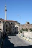 Uchisar街 库存图片