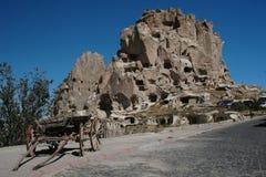 uchisar的cappadocia 库存照片