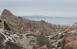 Uchisar,Cappadocia of Turkey Royalty Free Stock Images