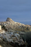Uchisar in Cappadocia Royalty Free Stock Image