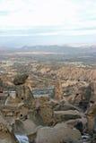 Uchisar in Cappadocia Stock Images