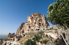 Uchisar Castle Royalty Free Stock Photos
