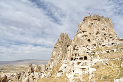 Uchisar Castle, Nevsehir, Turkey Stock Photo