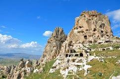 Uchisar citadel Royalty Free Stock Image