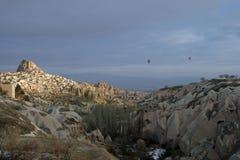 Uchisar dans Cappadocia Image stock