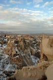 Uchisar en Cappadocia Foto de archivo