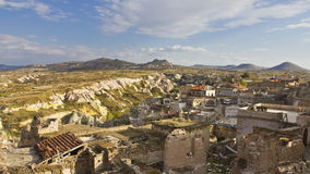 Uchisar town Royalty Free Stock Photography