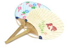Uchiwa giapponese del ventilatore Fotografia Stock