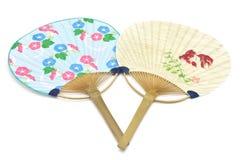 Uchiwa giapponese del ventilatore Fotografia Stock Libera da Diritti