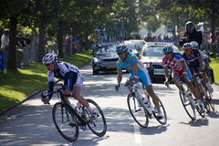 UCI公路赛精华人的世界冠军 免版税图库摄影