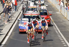 UCI road world championship,Florence 2013 Royalty Free Stock Image
