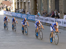 UCI road world championship,Florence 2013 Royalty Free Stock Images
