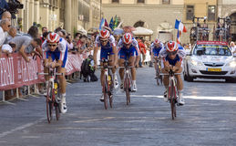 Uci road world championship 2013 Royalty Free Stock Photography