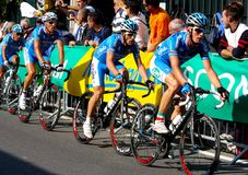 Uci Road World Championships 2008 Royalty Free Stock Photography