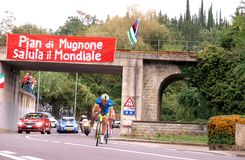 UCI road world championships, Italy Stock Image