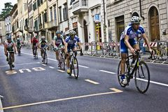 UCI Road World Championships. Toscana 2013. Royalty Free Stock Photo