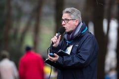 UCI-världscup Cyclocross - Hoogerheide, Nederländerna Arkivfoto