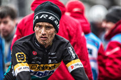 UCI-världscup Cyclocross - Hoogerheide, Nederländerna Arkivfoton