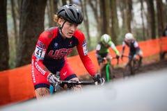 UCI-världscup Cyclocross - Hoogerheide, Nederländerna royaltyfri foto
