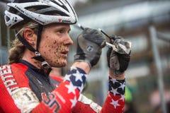 UCI-världsmästerskap Cyclocross - Heusden-Zolder, Belgien Arkivbilder