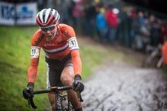 UCI-världsmästerskap Cyclocross - Heusden-Zolder, Belgien royaltyfri bild