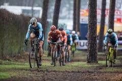 UCI-världsmästerskap Cyclocross - Heusden-Zolder, Belgien Arkivfoto