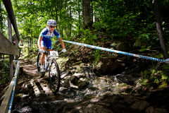 UCI-Weltcup-Cross Country 2013, Mont Ste-Anne, B Stockbild