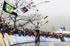 UCI-Weltcup Cyclocross - Hoogerheide, die Niederlande Lizenzfreies Stockfoto