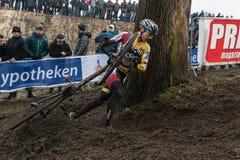 UCI-Weltcup Cyclocross - Hoogerheide, die Niederlande Stockbilder