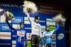 UCI-Weltcup Cyclocross - Hoogerheide, die Niederlande Lizenzfreie Stockfotografie