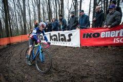 UCI-Weltcup Cyclocross - Hoogerheide, die Niederlande Lizenzfreie Stockbilder