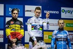 UCI-Weltcup Cyclocross - Hoogerheide, die Niederlande Stockbild
